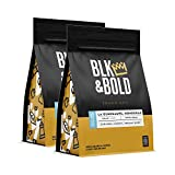Blk & Bold | La Guadalupe Honduras Single Origin | Fair Trade Certified & Organic | Light Roast | Whole Bean Coffee | 2 pack of 12 oz. bags