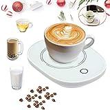 USB Coffee Mug Warmerfor Desk with Auto Shut Off,USB Coffee Cup Warmer for Desk Office Home…