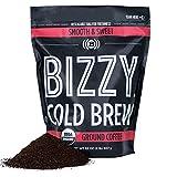 Bizzy Organic Cold Brew Coffee | Smooth & Sweet Blend | Coarse Ground Coffee | 2 LB