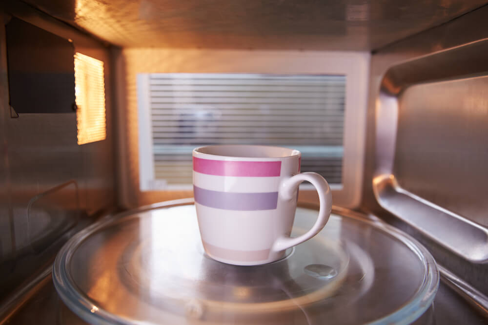 Cup Of Coffee Inside Microwave Oven - make coffee with a microwave