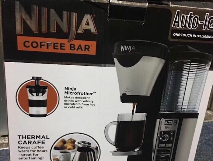 newly arrive box of ninja coffee Bar CF097