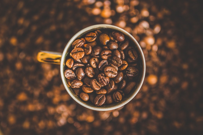 How many beans are in a cup of coffee?
