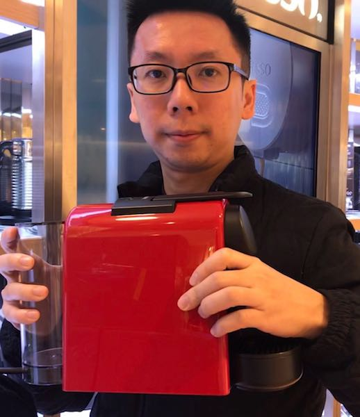 my favorite nepresso machine