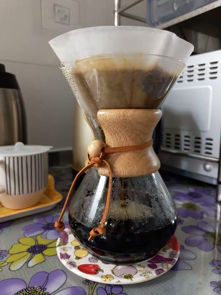Chemex and Coffee Filter