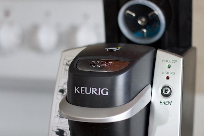 Keurig machine - put milk in a keurig
