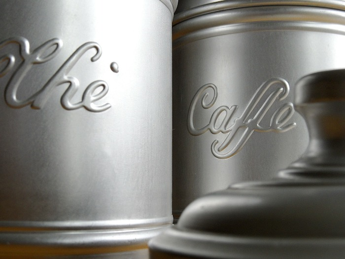 Recycle Coffee Canisters