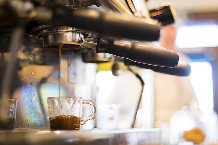Coffee and Espresso machine.