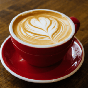 The cappuccino, a popular coffee drink