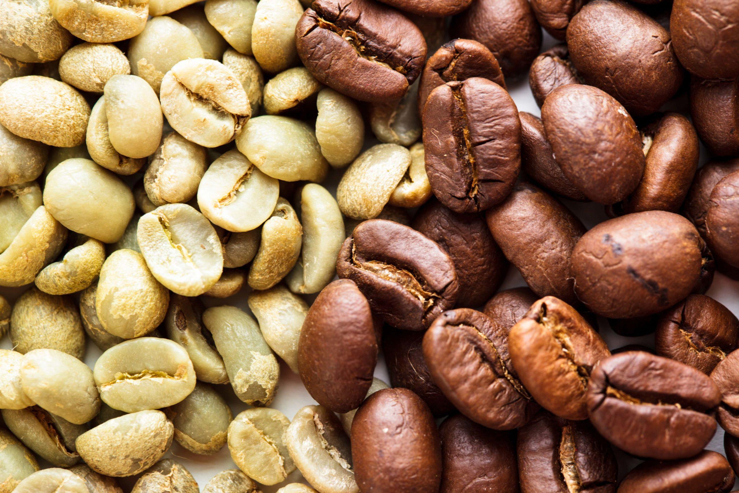 Coffee bean varieties.