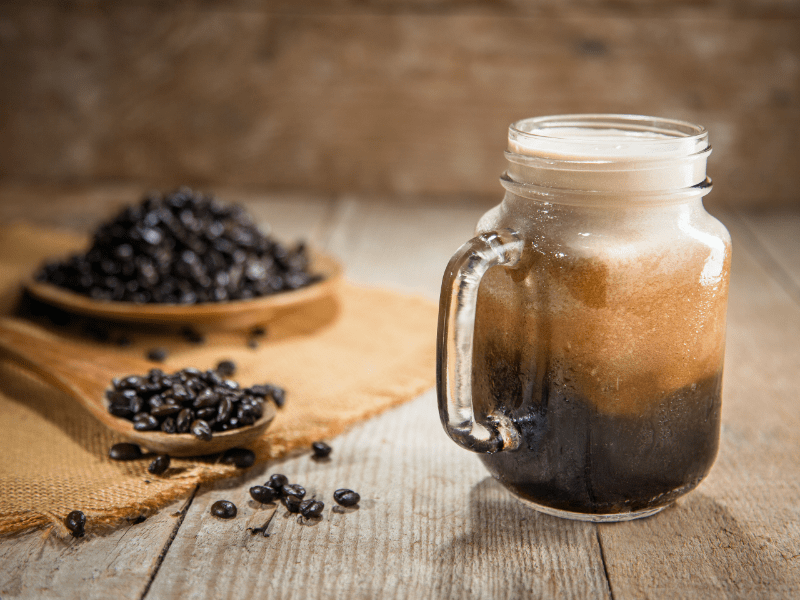 Coffee beans and Espresso - types of coffee