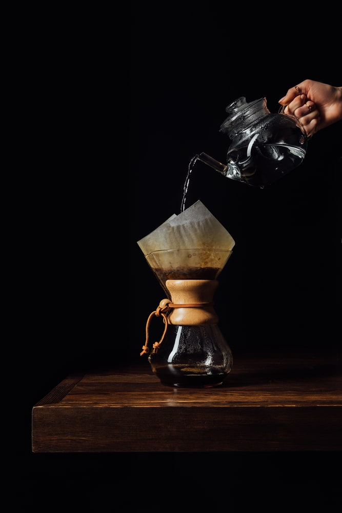 Chemex brewing method