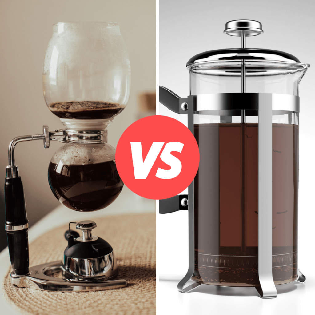 siphon coffee vs french press