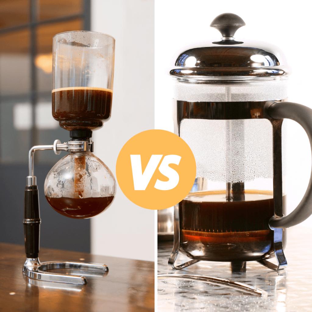 siphon coffee vs french press