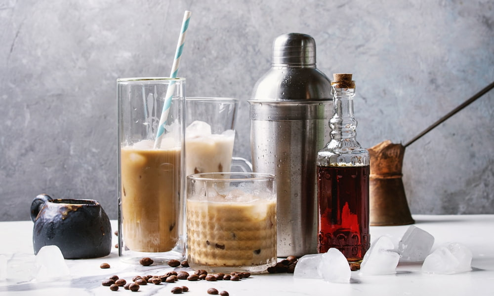 Coffee and spirits for creating coffee liqueurs.