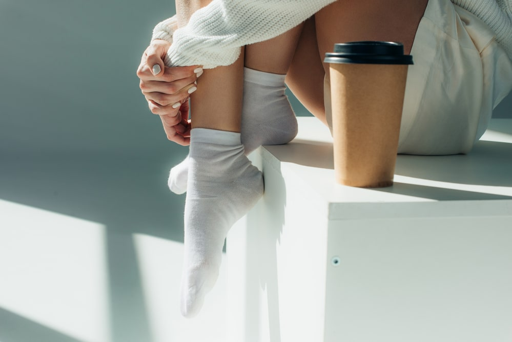 Coffee can be filtered through a cotton sock