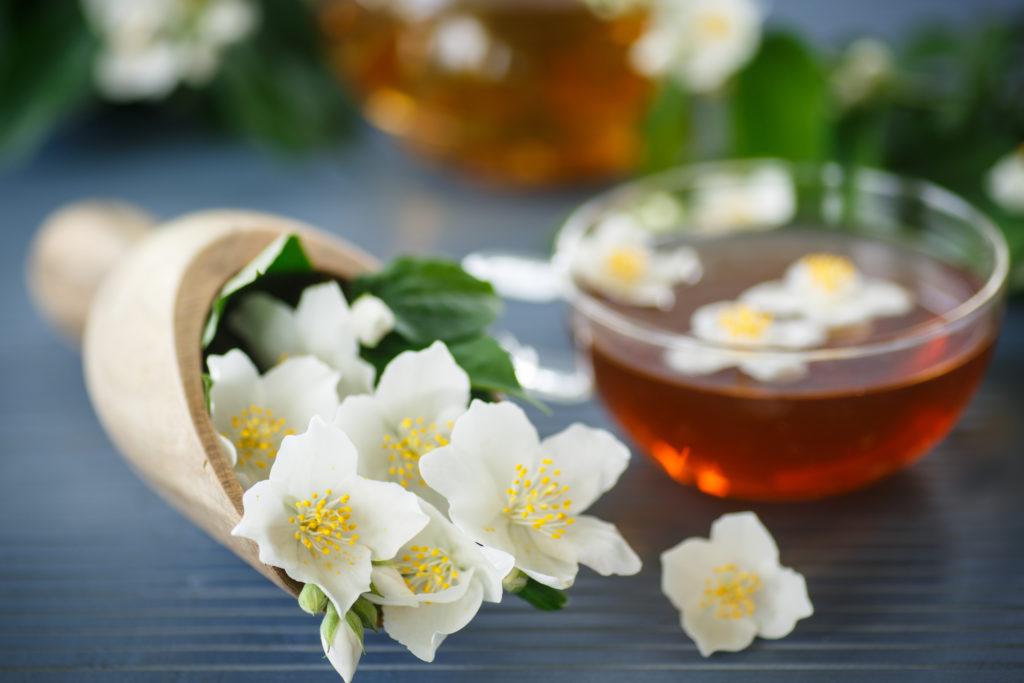 Jasmine tea vs green tea