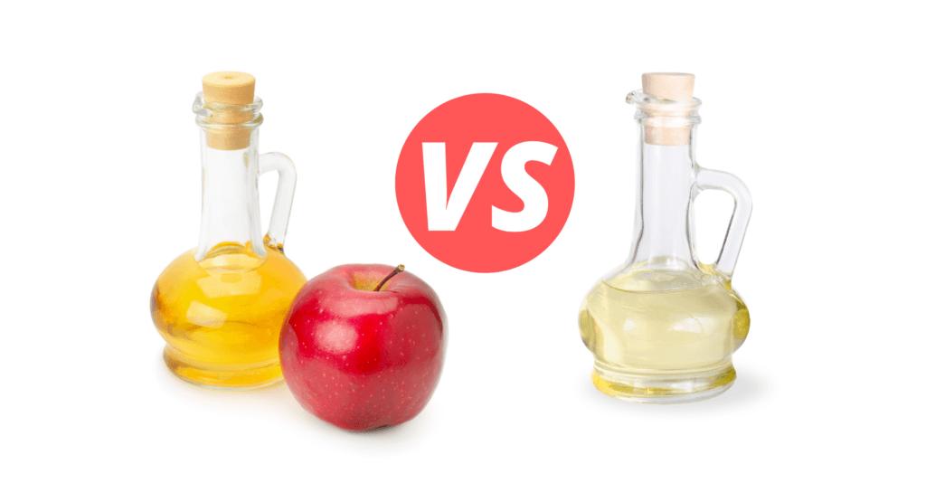 Apple Cider Vinegar VS White Vinegar