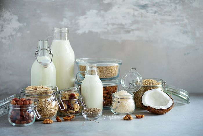 Kinds of Non-dairy milk