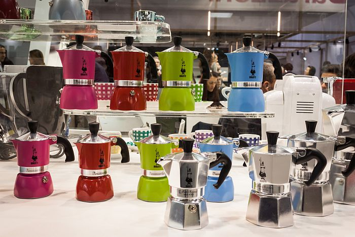 Moka Pots in different Sizes