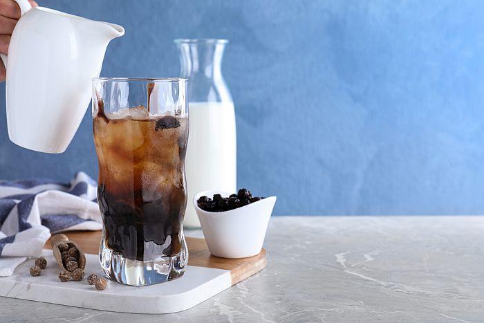 Black tea, tapioca balls and milk- Bubble tea's main ingredients