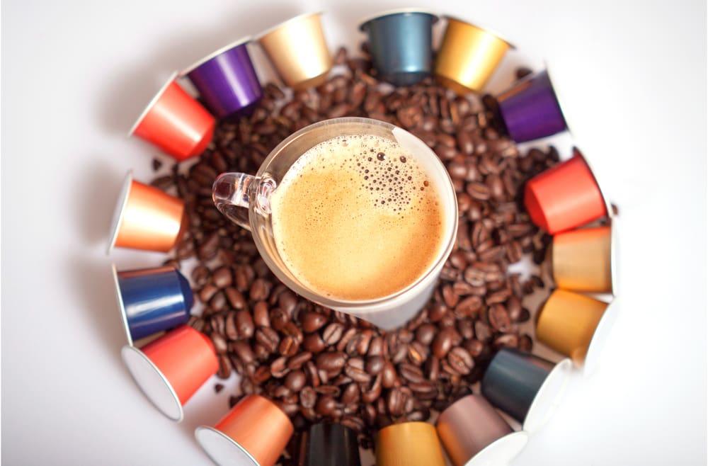 Nespresso coffee pods