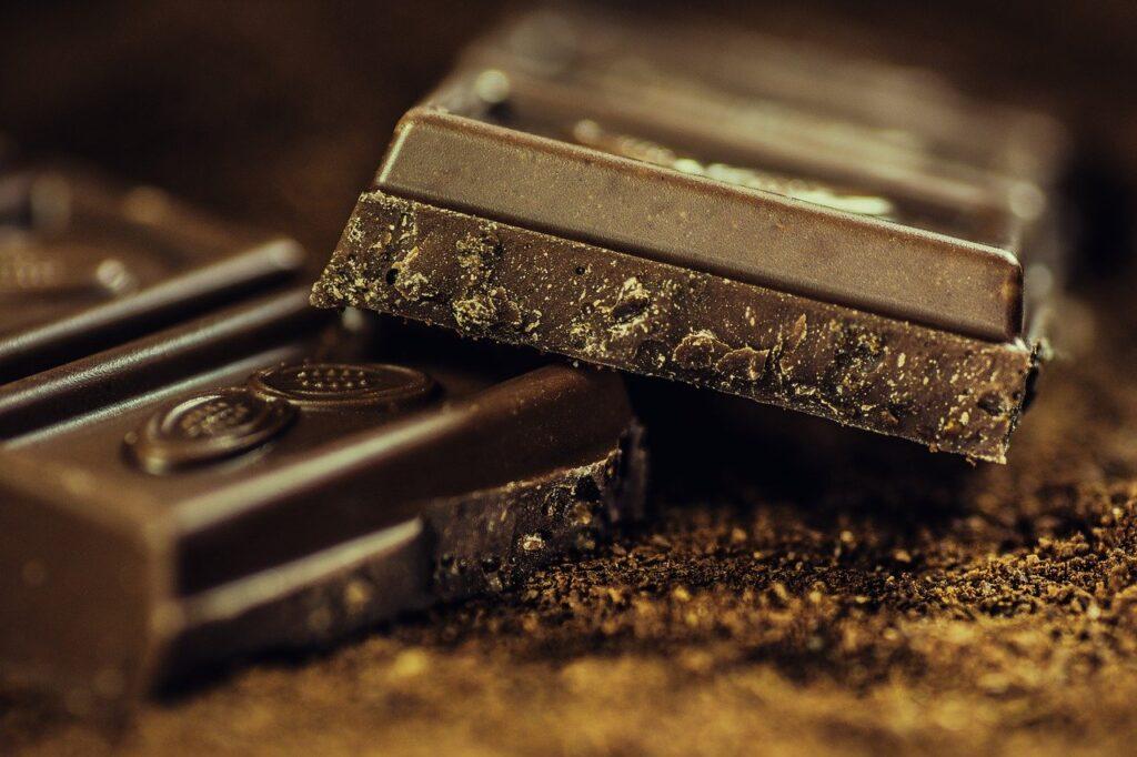 chocolate, bars, dark chocolate