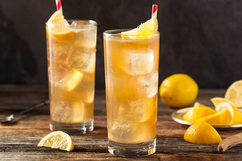 boozy tea drinks - featured