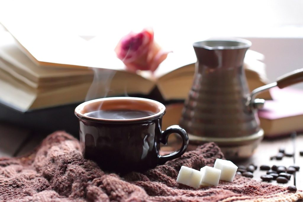 best temperature for making coffee - hot cup of coffee