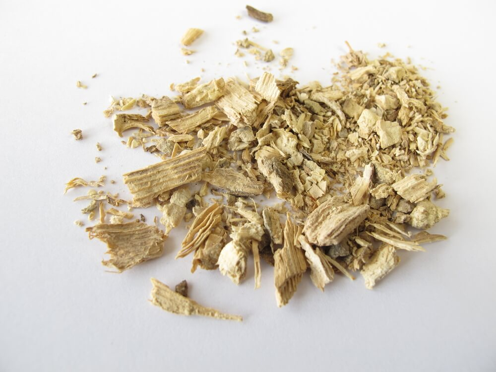 how to make kava tea - pieces of kava root