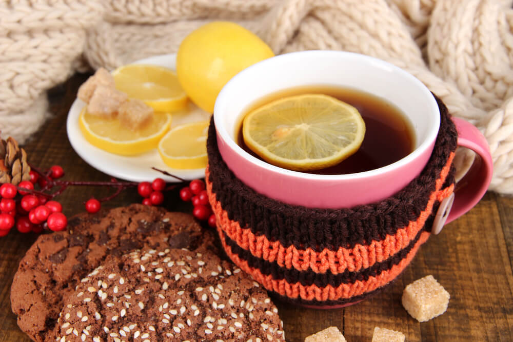 tea cozy at a table top - what is a tea cozy