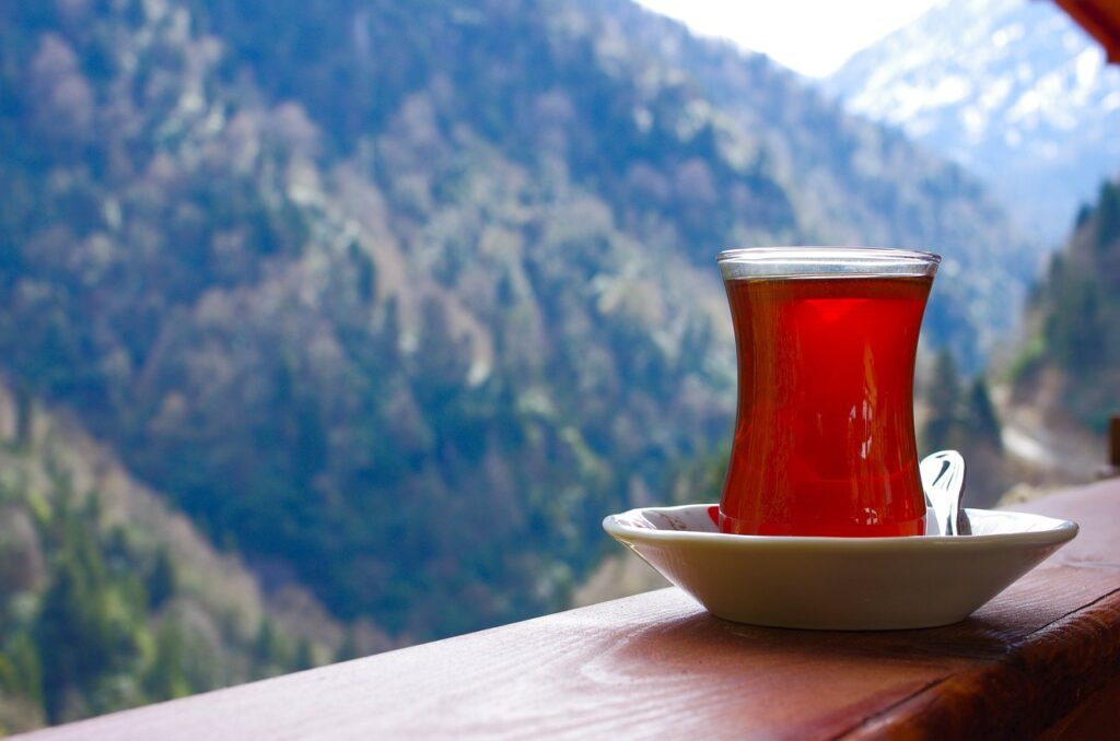 tea, rize, glass