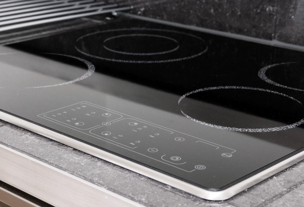 A modern induction stove
