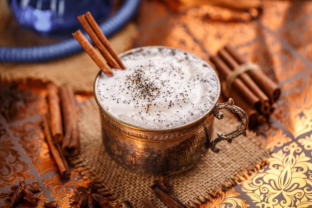 chai tea latte vegan