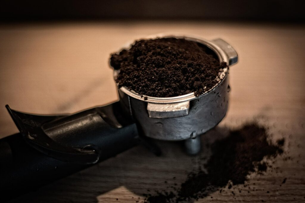 coffee, ground coffee, coffee grinds