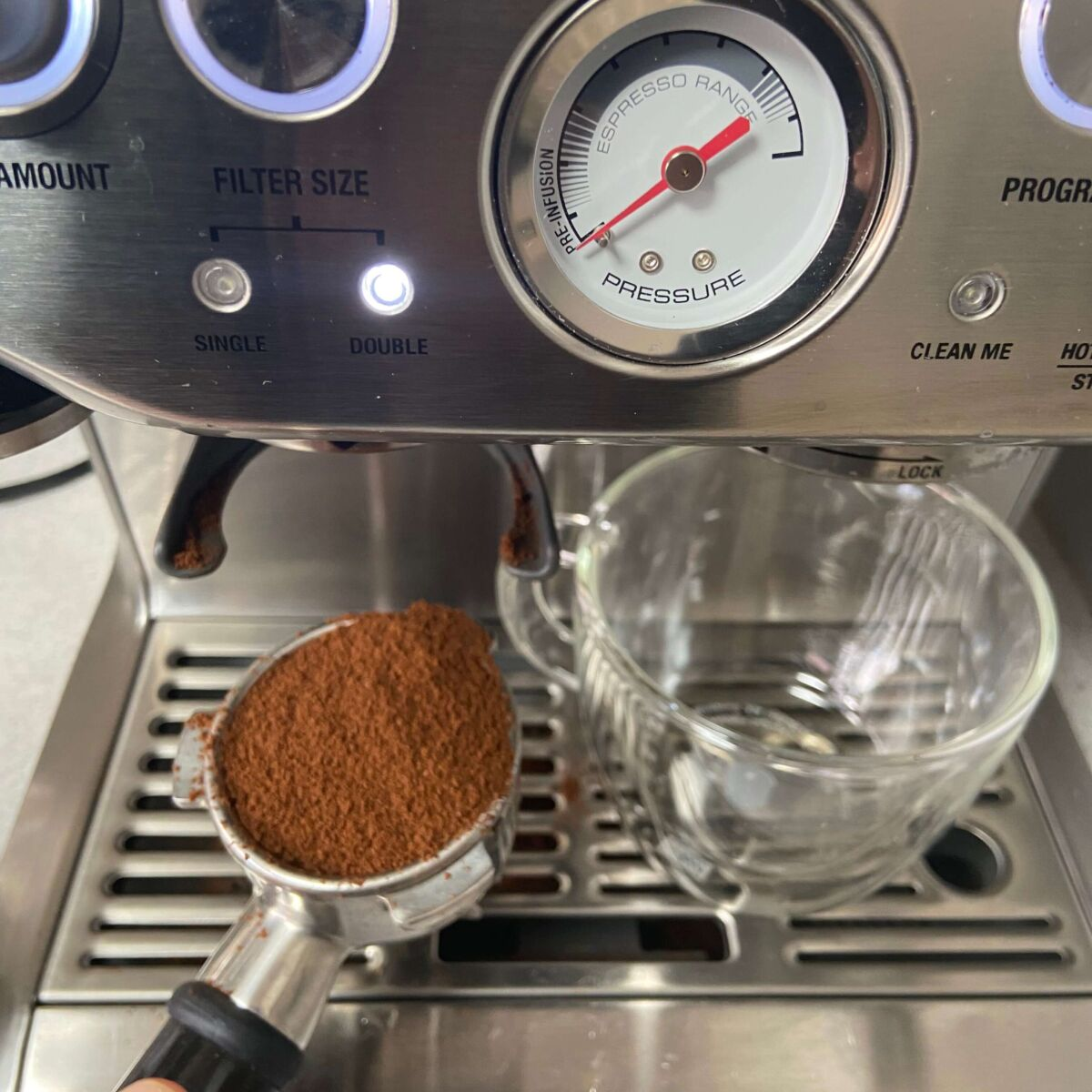 coffee grounds for breville coffee machine