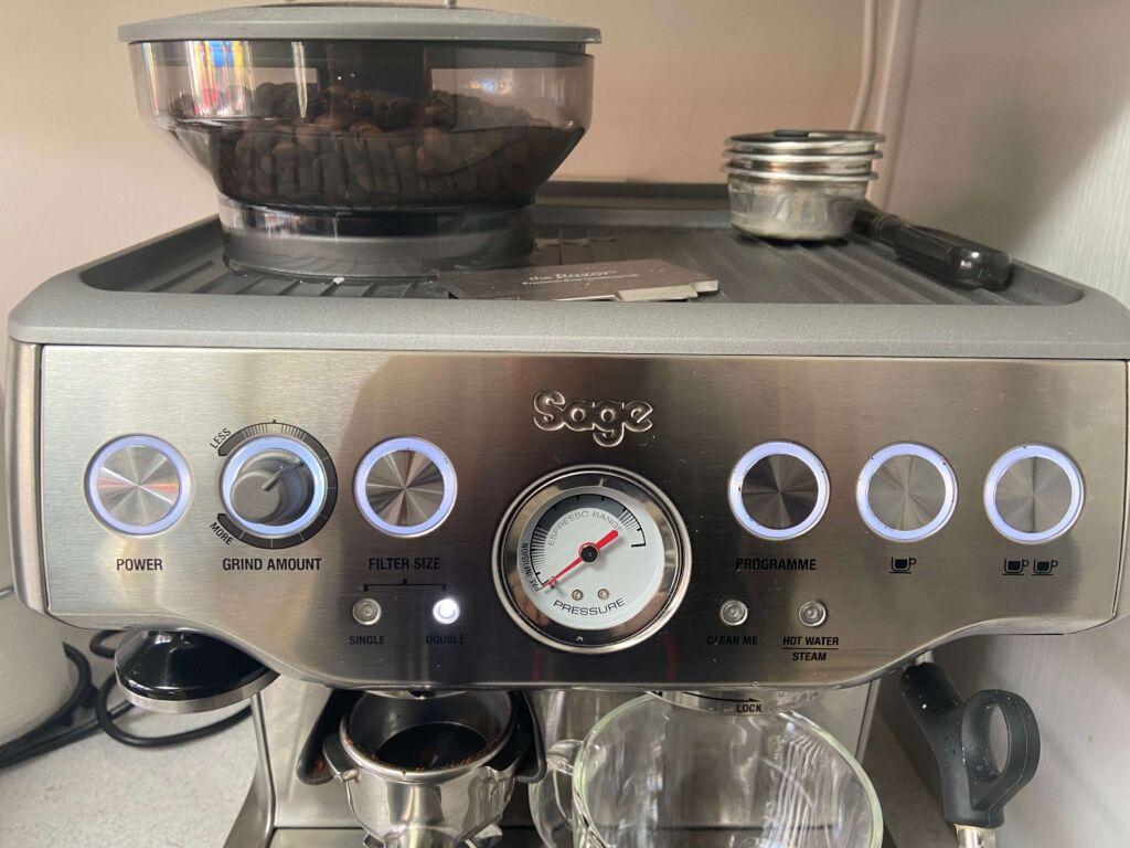 Brevile barista express coffee machine