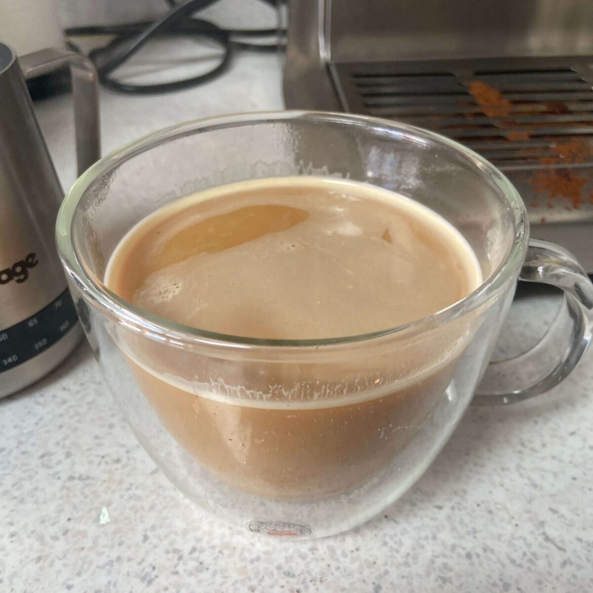 The Barista Express Makes Drinks Quickly