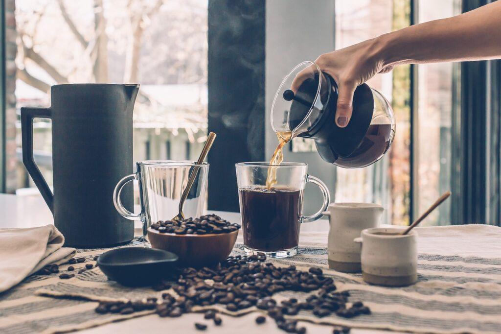coffee, drinks, roasted