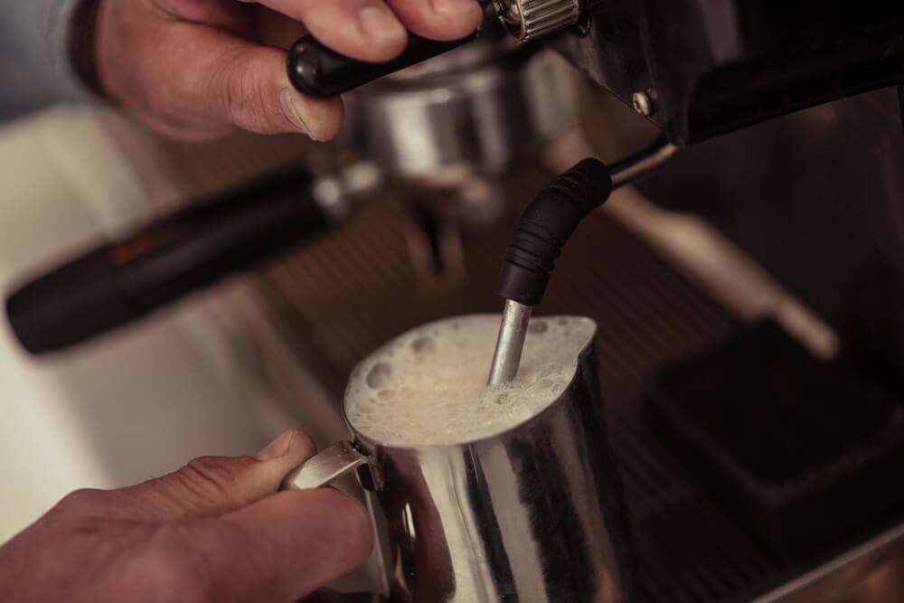 Is frothed milk healthy?