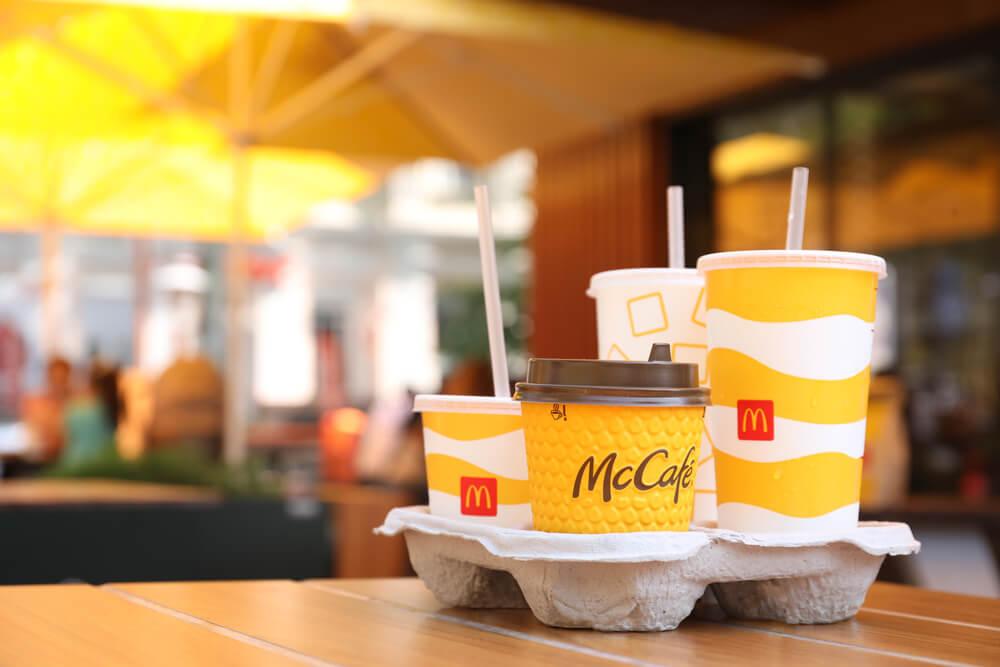 McDonald's iced coffee vs. Starbucks