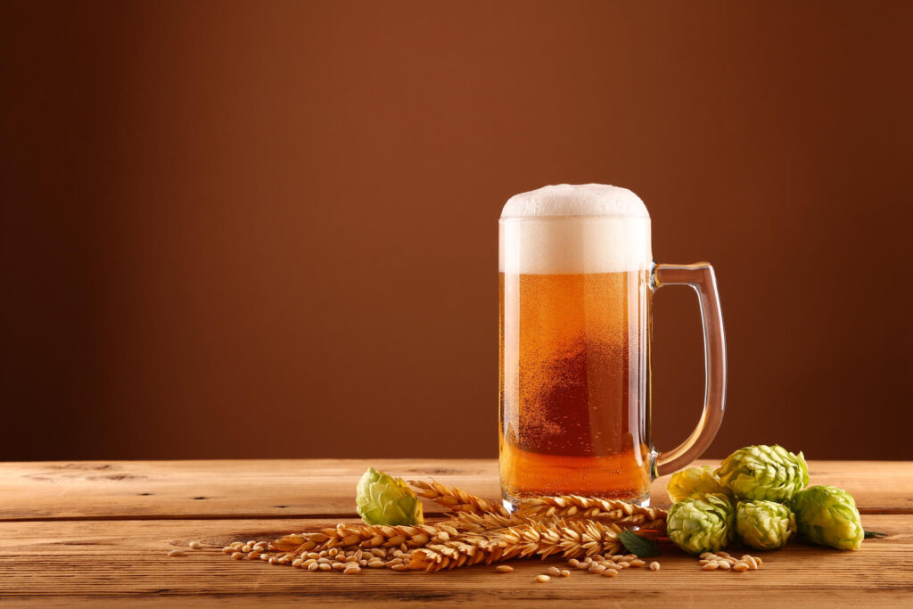 Different types of hops used in homebrewing