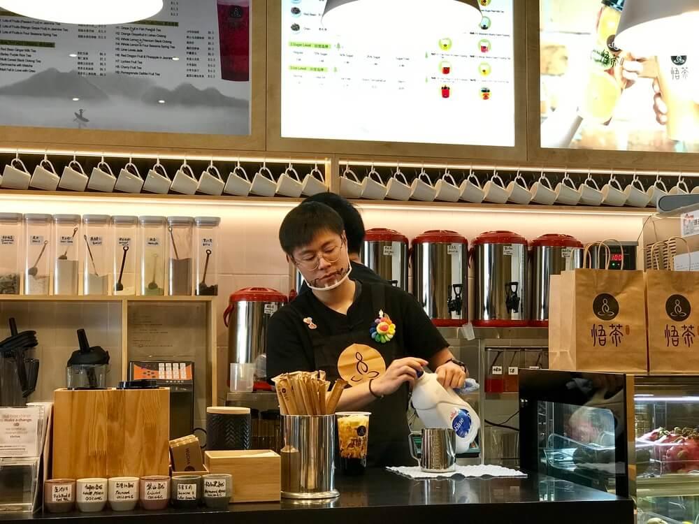 Is bubble tea japanese?